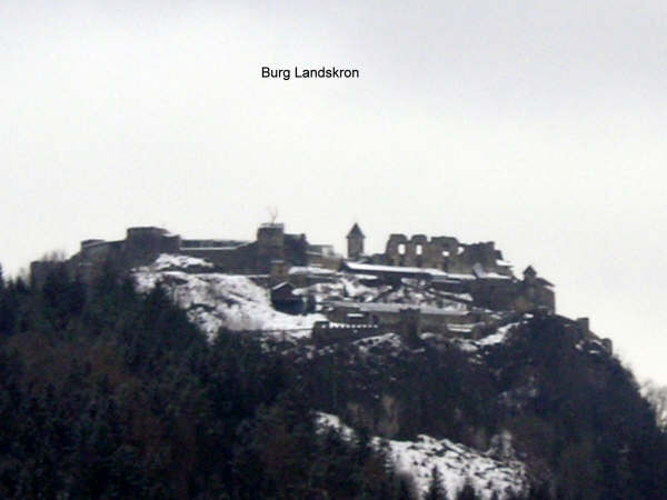 Wandeltocht naar de gipfel van de gerlitzen 14-Burg-Landskron