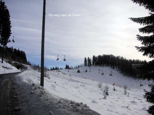 Wandeltocht naar de gipfel van de gerlitzen 3-op-weg-naar-de-Gipfel