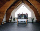 Binnenkant Friedenskirche