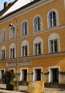 Geboortehuis Adolf Hitler in Braunau am Inn