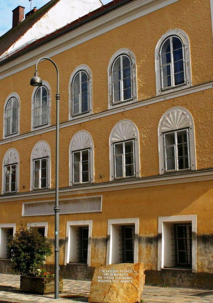Geboortehuis Adolf Hitler in Braunau am Inns