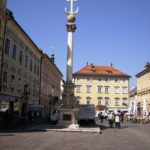Alte Platz Klagenfurt pestzuil