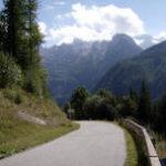 Paulitschsattel uitzicht op Steinische Alpen