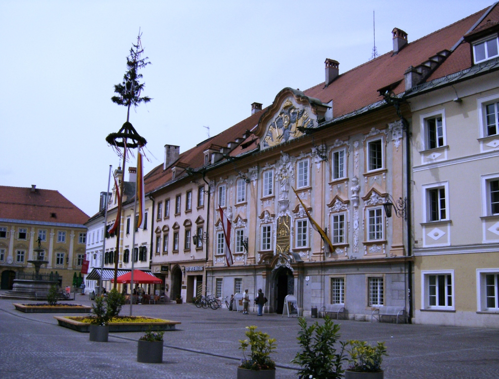 St Veit binnenplaats Rathaus