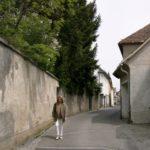 St Veit steegje langs de stadwallen