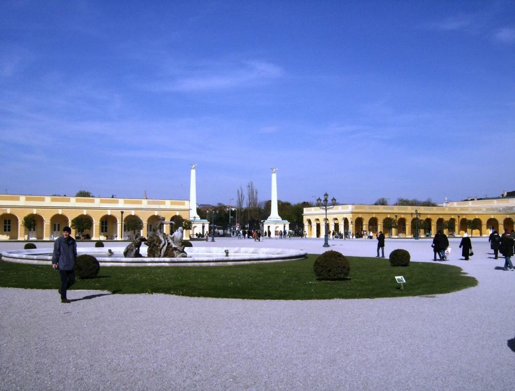 Schloss Schonbrunn Wenen, de twee adelaars van Napoleon