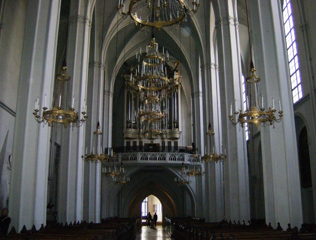 Augustiner Kirche met het grote orgel
