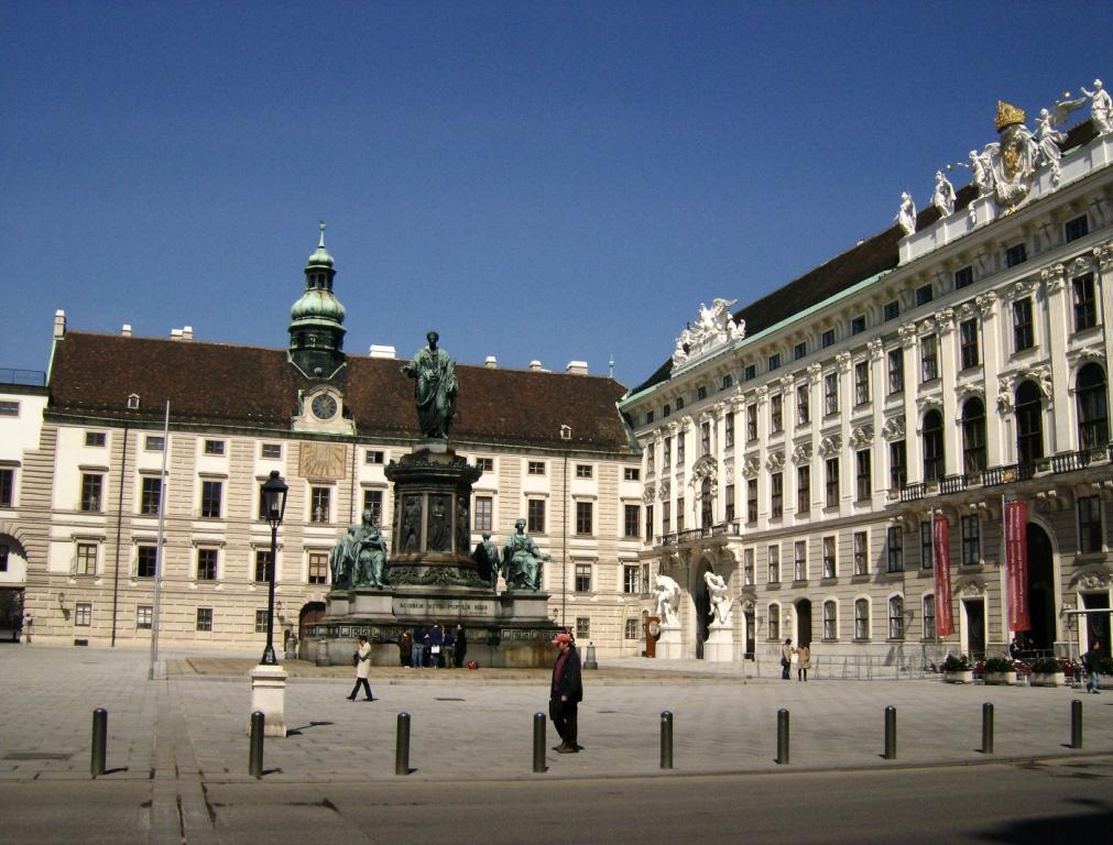 binnenplaats voor keizerlijke vertrekken Hofburg