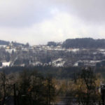 uitzicht van Glantschach op Obernarrach