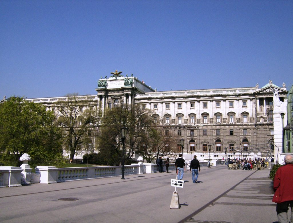 voorzijde Hofburg
