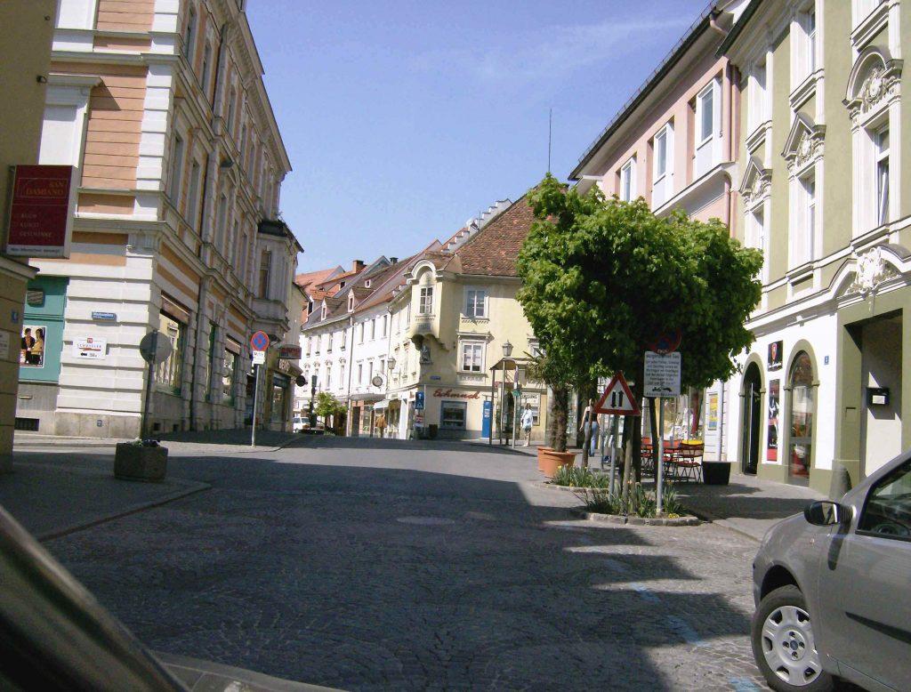 Wolfsberg binnenstad