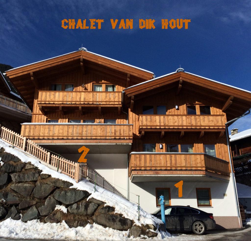 Chalet Van Dik Hout in Hippach bij Mayrhofen